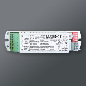 Övervakningsenhet för övervakning av interiörarmaturer (MU05)