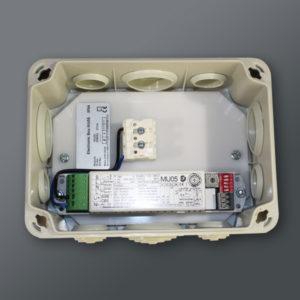 Övervakningsenhet i extern box (öppen) (MU05-BOX)