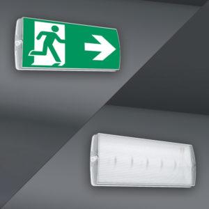 Nödbelysning | NormLed med och utan piktogram