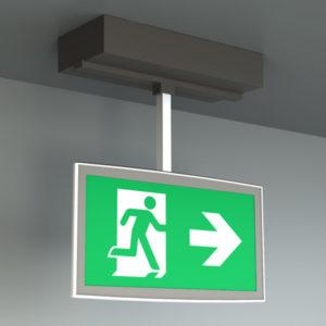 Nödbelysning | OLED för takmontage | Xact Nödbelysning AB